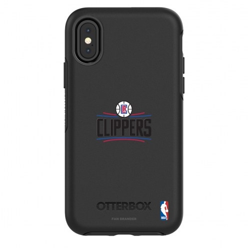 Los Angeles Clippers OtterBox iPhone X/Xs Symmetry Black Case