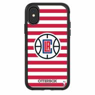 Los Angeles Clippers OtterBox iPhone X/Xs Symmetry Stripes Case