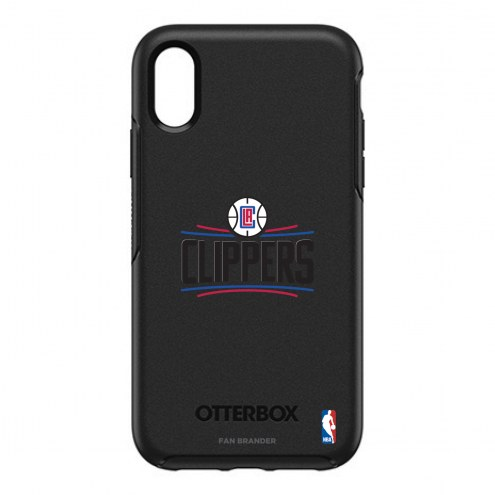 Los Angeles Clippers OtterBox iPhone XR Symmetry Black Case