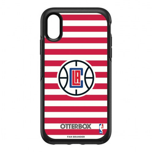 Los Angeles Clippers OtterBox iPhone XR Symmetry Stripes Case