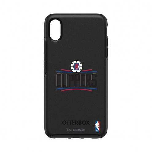 Los Angeles Clippers OtterBox iPhone XS Max Symmetry Black Case