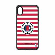 Los Angeles Clippers OtterBox iPhone XS Max Symmetry Stripes Case