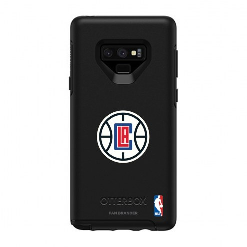 Los Angeles Clippers OtterBox Samsung Galaxy Note9 Symmetry Black Case