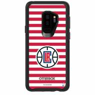 Los Angeles Clippers OtterBox Samsung Galaxy S9+ Symmetry Stripes Case