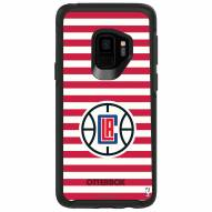 Los Angeles Clippers OtterBox Samsung Galaxy S9 Symmetry Stripes Case