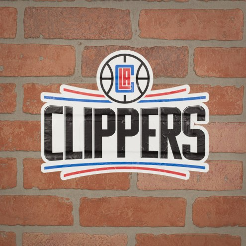 Los Angeles Clippers Outdoor Logo Graphic