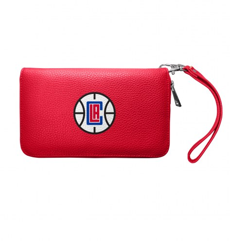 Los Angeles Clippers Pebble Organizer Wallet