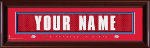 Los Angeles Clippers Personalized Stitched Jersey Print