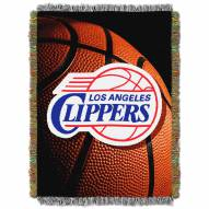 Los Angeles Clippers Photo Real Throw Blanket