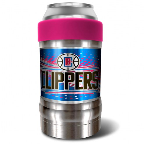 Los Angeles Clippers Pink 12 oz. Locker Vacuum Insulated Can Holder