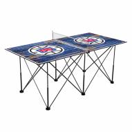Los Angeles Clippers Pop Up 6' Ping Pong Table