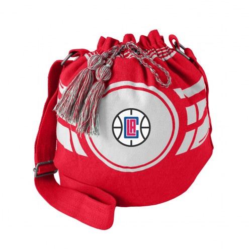 Los Angeles Clippers Ripple Drawstring Bucket Bag