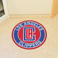 Los Angeles Clippers Rounded Mat