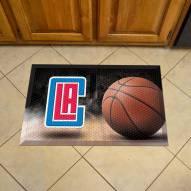 Los Angeles Clippers Scraper Door Mat