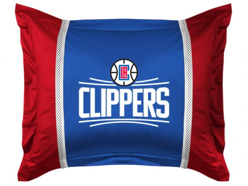 Los Angeles Clippers Sidelines Pillow Sham