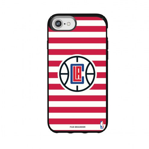 Los Angeles Clippers Speck iPhone 8/7/6s/6 Presidio Stripes Case