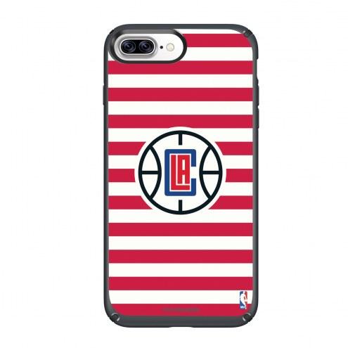 Los Angeles Clippers Speck iPhone 8 Plus/7 Plus Presidio Stripes Case
