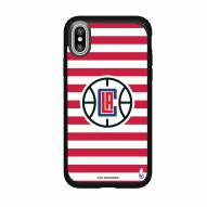 Los Angeles Clippers Speck iPhone X Presidio Stripes Case