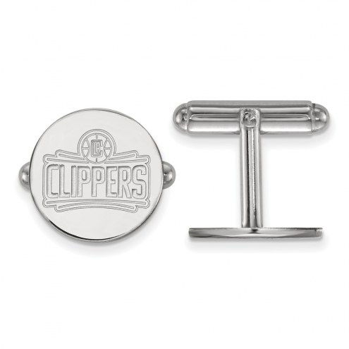 Los Angeles Clippers Sterling Silver Cuff Links