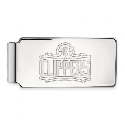 Los Angeles Clippers Sterling Silver Money Clip