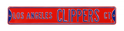 Los Angeles Clippers Street Sign