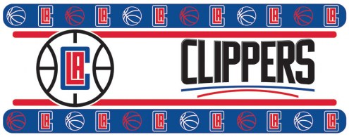 Los Angeles Clippers Wall Border