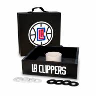 Los Angeles Clippers Washer Toss Game Set