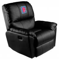 Los Angeles Clippers XZipit Rocker Recliner with Secondary Logo