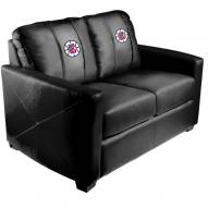 Los Angeles Clippers XZipit Silver Loveseat