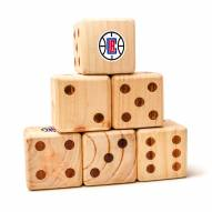 Los Angeles Clippers Yard Dice