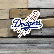 "Los Angeles Dodgers 12"" Steel Logo Sign"