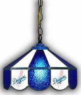 "Los Angeles Dodgers 14"" Glass Pub Lamp"