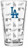 Los Angeles Dodgers 16 oz. Sandblasted Pint Glass