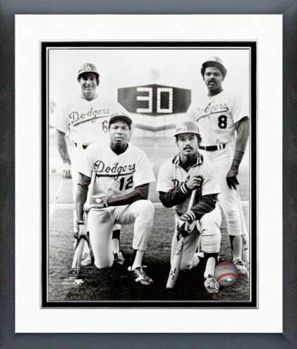 Los Angeles Dodgers 1977 30 Home Run Club Framed Photo