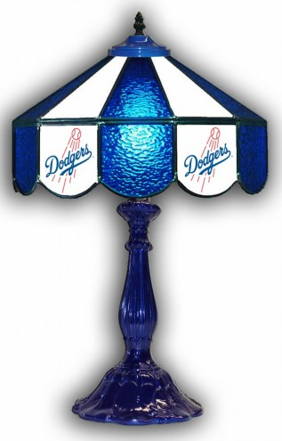 "Los Angeles Dodgers 21"" Glass Table Lamp"