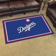 Los Angeles Dodgers 4' x 6' Area Rug