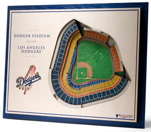 Los Angeles Dodgers 5-Layer StadiumViews 3D Wall Art