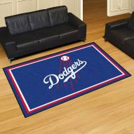 Los Angeles Dodgers 5' x 8' Area Rug