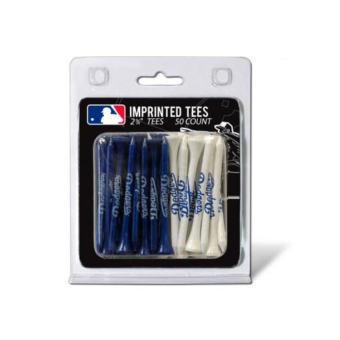 Los Angeles Dodgers 50 Golf Tee Pack