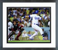 Los Angeles Dodgers Andre Ethier Action Framed Photo