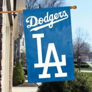 Los Angeles Dodgers Applique 2-Sided Banner Flag