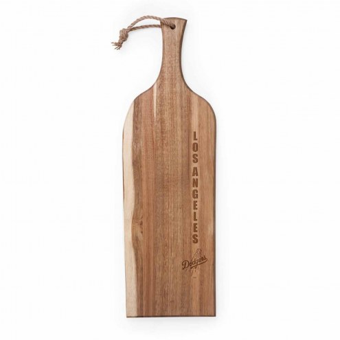 "Los Angeles Dodgers Artisan 24"" Acacia Serving Plank"