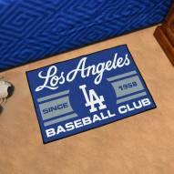 Los Angeles Dodgers Baseball Club Starter Rug