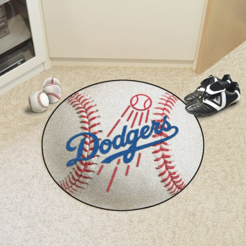 Los Angeles Dodgers Baseball Rug