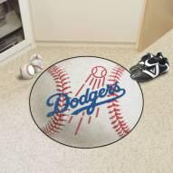 Los Angeles Dodgers Baseball Rug