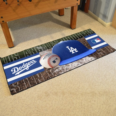 Los Angeles Dodgers Baseball Runner Rug