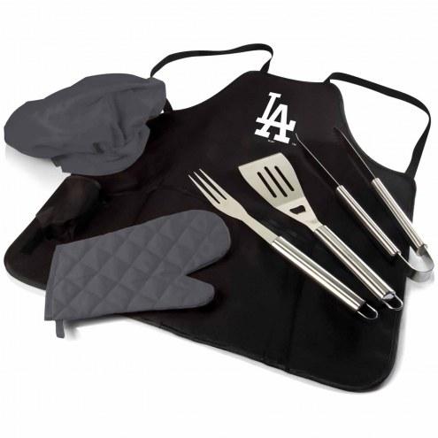 Los Angeles Dodgers BBQ Apron Tote Set