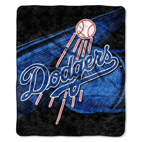 Los Angeles Dodgers Big Stick Sherpa Blanket