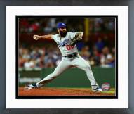 Los Angeles Dodgers Brian Wilson Action Framed Photo