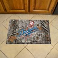 Los Angeles Dodgers Camo Scraper Door Mat